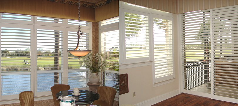 Lake Oswego interior wood shutters